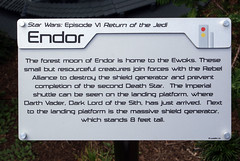 Information Panel (MGrannetia) Tags: starwars legoland endor episode6
