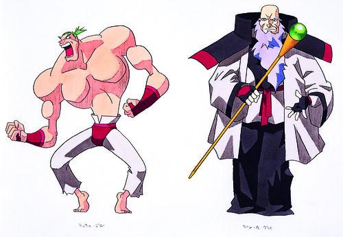 Guardian Heroes Concept Art