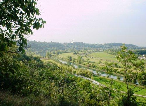 Valeggio, valle del Mincio