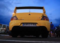 Evolution (Yesenia Lpez) Tags: car evolution racing mitsubishi coches evo alcampo