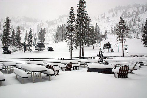 Alpine Meadows Sundeck