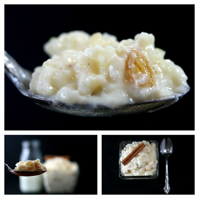 riso al latte (rice pudding)