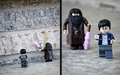 LEGO HP 008 (TopHatNotRequired) Tags: alley lego magic bricks harry potter jk rowling hagrid diagon