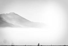 I wanna ride my bicycle (mfellnerphoto) Tags: morning mountains bicycle silhouette fog contrast bayern bavaria nebel foggy berge morgen fahrrad benediktbeuern neblig ringexcellence