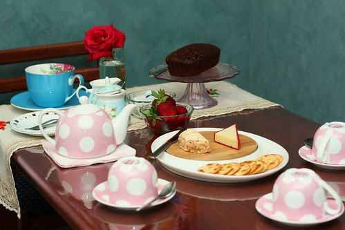 Tea Party for three :)