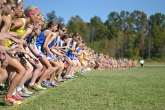 two eight one; {explored} (chartothelatte) Tags: girls teams crosscountry runners 365 spikes meet 114 day281 sooc explooooored thaankssguys