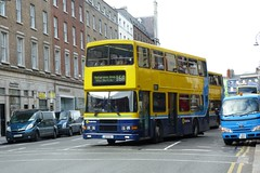 RV 551 D'Olier Street 12/10/11 (Csalem's Lot) Tags: rv551 dublin bus volvo olympian rv 16a dolierstreet
