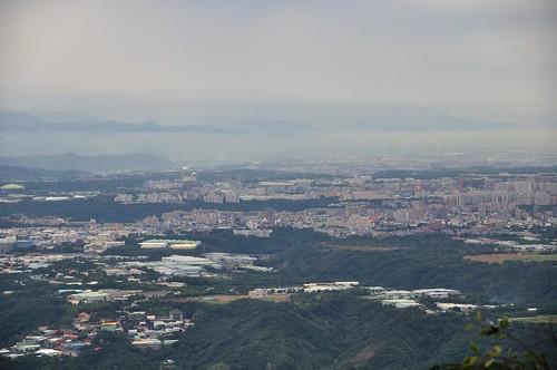 觀音山遠眺桃園