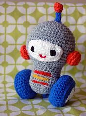 Robot (~ tilde ~) Tags: toy robot crochet amigurumi