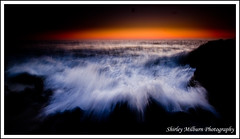 The accident (milbs1) Tags: sunset abstract wave perth northbeach