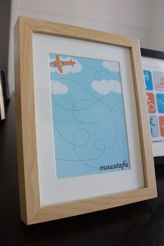 kids personalised frame