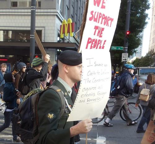 OccupySeattle_111015_InUniform