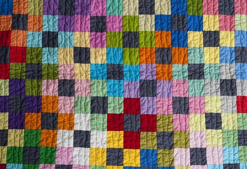 Kona Solids Challenge - Baby Playmat