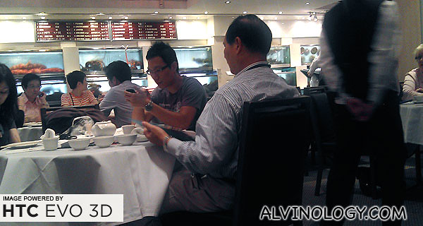 This Chinese restaurant is in Sydney, not Singapore