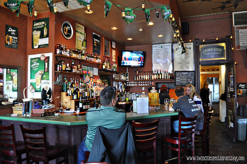 Bar at Charlie's Irish Pub at Water Street Inn ~ Stillwater, MN
