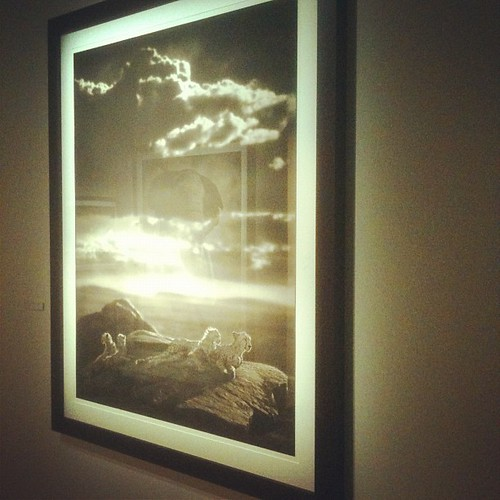 nick brandt at #fotografiska