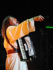CIMG2791 (DKoontz) Tags: music rock washingtondc dc concert funny casio wierd accordian exilim apocolypse warnertheater weirdalyankovic exf1