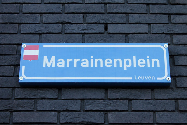 Opening jaartallenpad en Marrainenplein