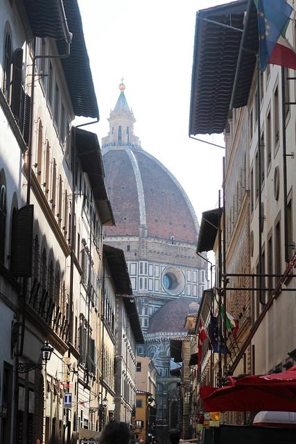 view onto Duomo