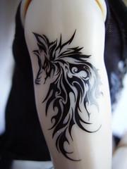 Taeyang Arm Tattoo