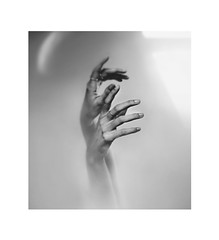 Turn down the lights (Melania Brescia) Tags: light mist hands