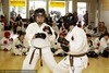 kids kumite (sparring) tournament at the seishinkan karate on main dojo in tigard, oregon