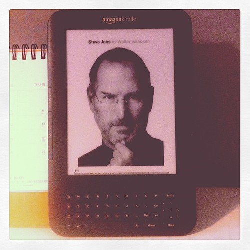 Steve Jobs by Walter Isaacson.
