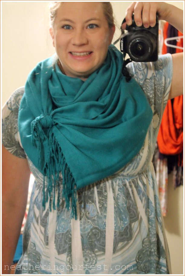scarf step 4