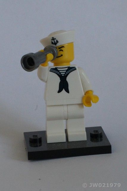 Lego Sailor Minifigure