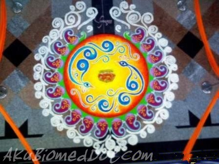 Kolam Diwali