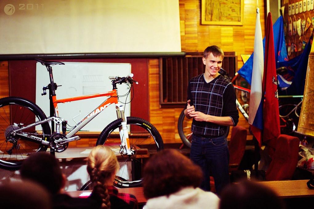 Велодоктор, лекция о ремонте велосипеда в клубе 3Х9