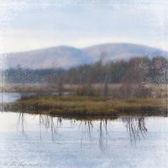 mirror lake (the blue muse) Tags: lake mountains adirondacks