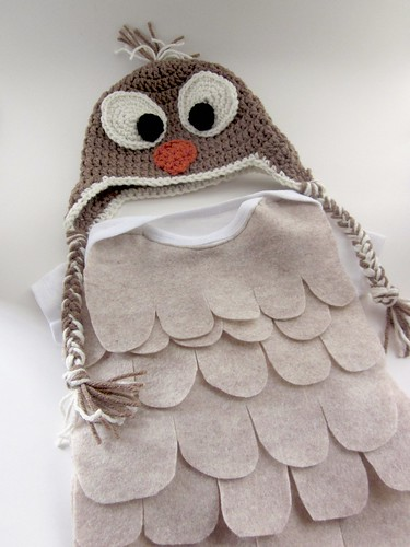 simple infant owl costume