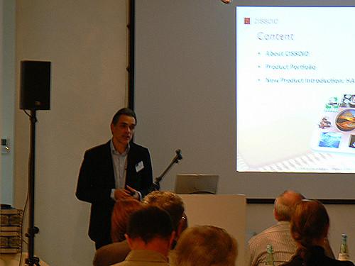 Jean-Christophe Doucet presents Cissoid's high temperature electronics