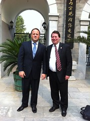 Lt. Governor Darr trip to China