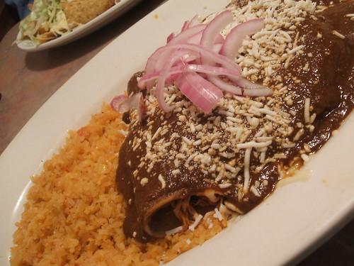 Enchiladas poblanos