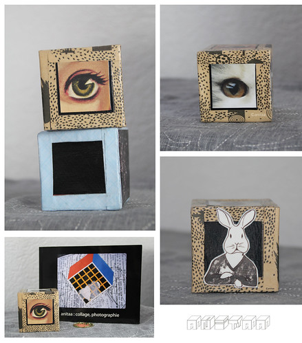 collage cubes