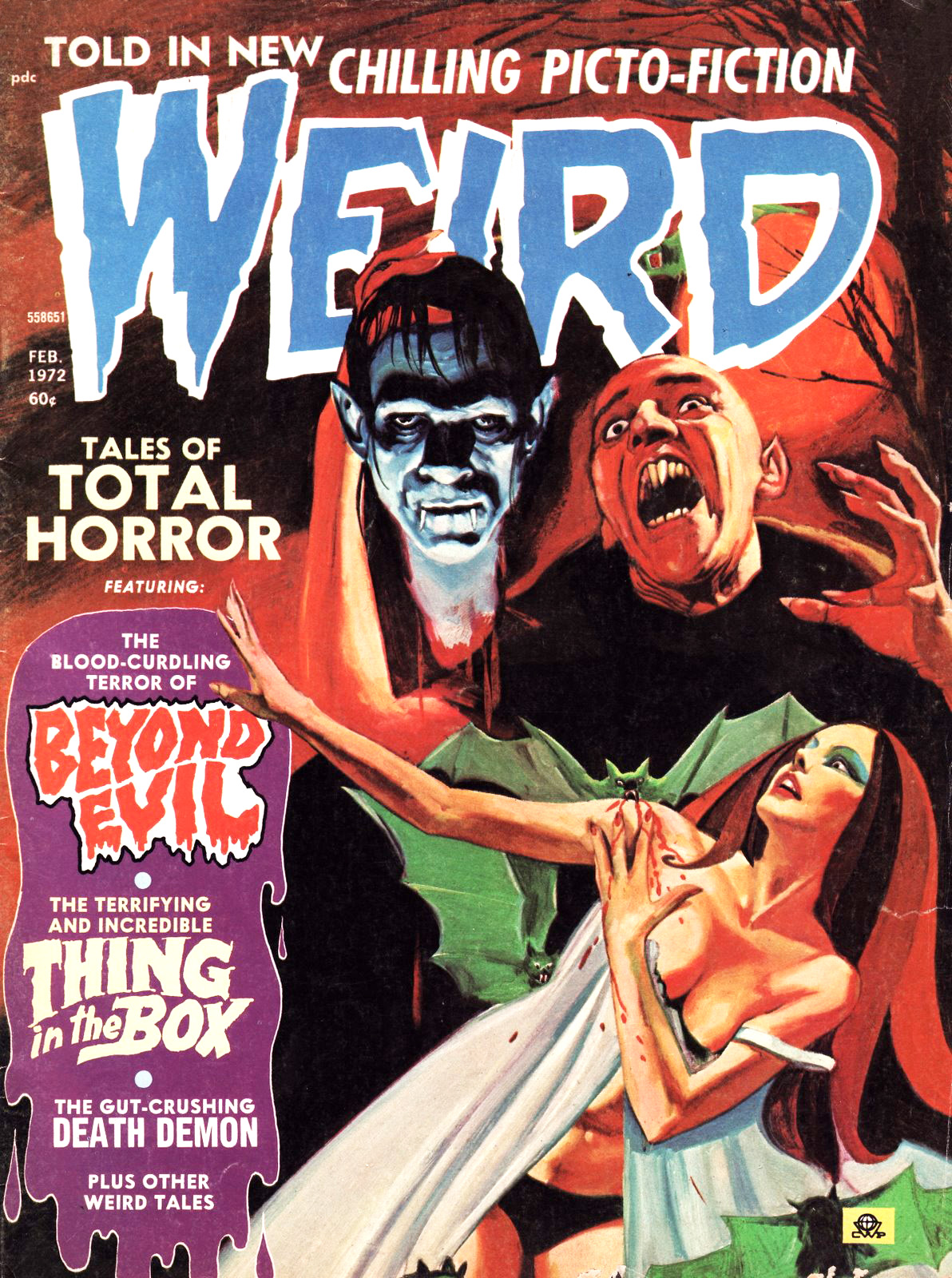 Weird Vol. 06 #1 (Eerie Publications, 1972)