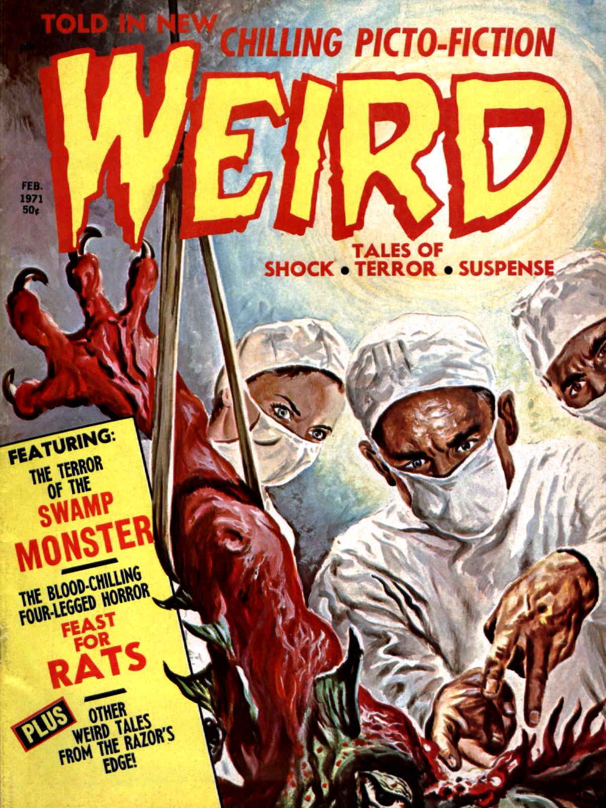 Weird Vol. 05 #1 (Eerie Publications, 1971)
