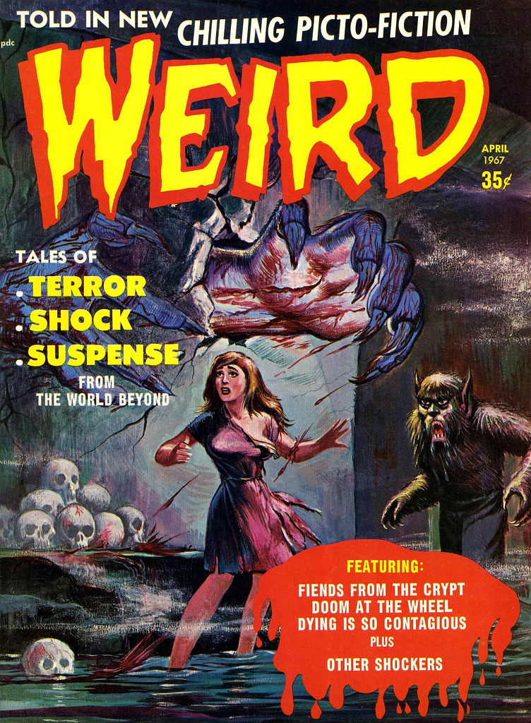 Weird Vol. 02 #2 (Eerie Publications, 1967)