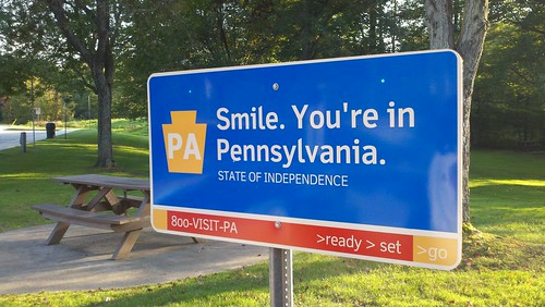 Smile. You're in Pennsylvania