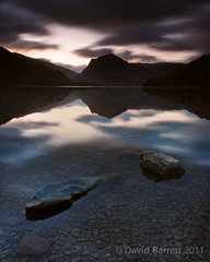 Buttermere as the day dawned (David Barrett, The) Tags: lake fall landscape lakedistrict cumbria buttermere beforesunrise lakedistrictnationalpark fleetwithpike landscapephotography honisterpass davidbarrett warnscalebottom distinguishedlongexposure thephotographersephemeris wwwinspiredbythelandscapecom