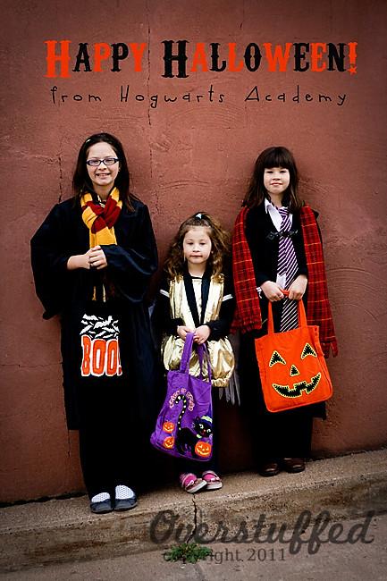 A Very Hogwartsy Halloween