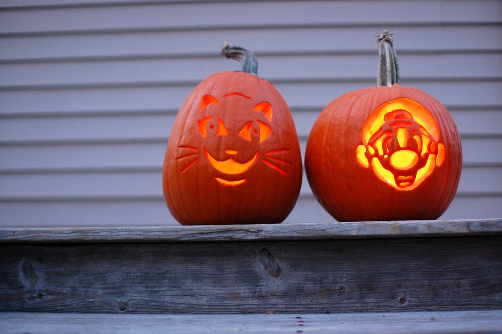 The Kids' Jack-O-Lanterns