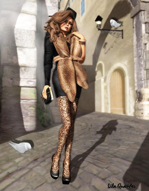 Baiastice Gifha Black & Mimikri Fur