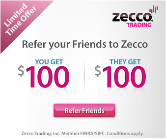 Zecco referral bonus