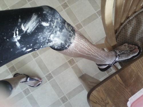 Ceramics foot