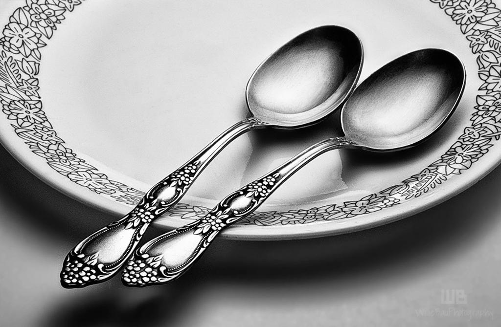 2 Spoons.