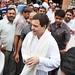 Rahul Gandhi comes out of Ravidas Mandir (1)