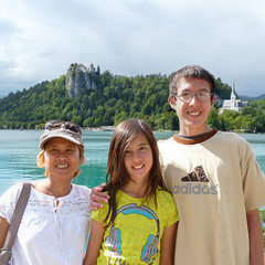 Kanitha, Samantha and BieJee in Bled (Bn) Tags: world travel blue girls summer two mountain lake holiday alps castle feet water beauty swim geotagged island swan women hiking relaxing ducks tourist medieval romance slovenia alpine bled rowing romantic championships picturesque idyllic attraction kasteel slopes barna glacial overwhelming 2011 blejski pletna veldes geo:lon=14108258 geo:lat=46368543